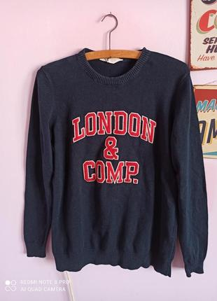 Кофта светр свитер h m h&m xs london comp
