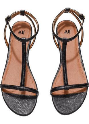 Стильные босоножки ,сандалии ,бренд h&m, размер 37,39,40