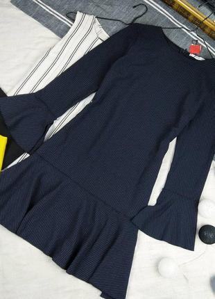 Новое платье в тонкую полоску mango