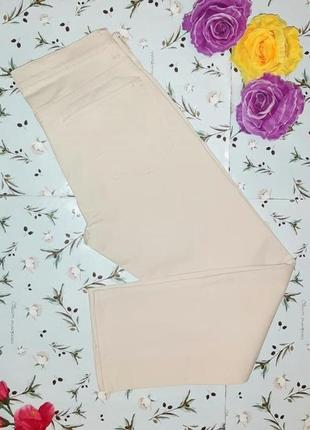 🎁1+1=3 оригинальные бежевые женские джинсы gap, размер 42 - 44