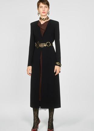 Zara платье шерсть миди , s
