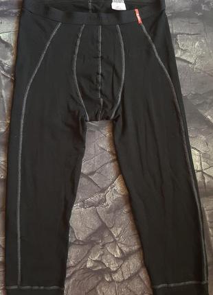 Термобелье loffler / низ 3/4 штаны кальсоны р.xl