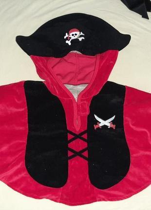 Костюм пирата 2-3 года.