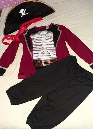 Карнавальный костюм пирата 9-10 лет.