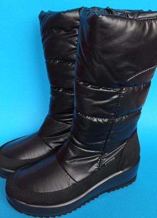 Фирменные оригинал зимние сапоги дутики ботинки полусапоги