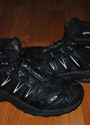 Ботинки salomon gore-tex 41 р