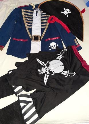 Карнавальный костюм пирата 8-11лет.