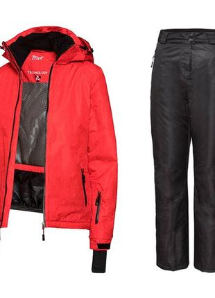 Лыжный термо костюм женский crivit pro р євро 38 штани + куртка