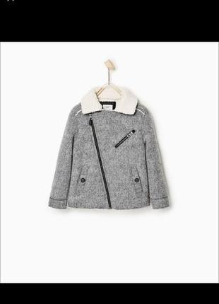 Куртка косуха пальто zara