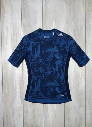 Компресионная футболка, термо белье adidas tech fit