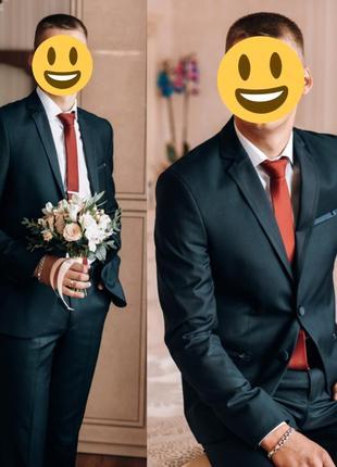 Мужской костюм .свадебный костюм