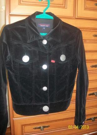 Вельветовый пиджак, размер s
