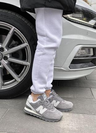 Шикарные женские зимние ботинки топ качество new balance ❄️🎁