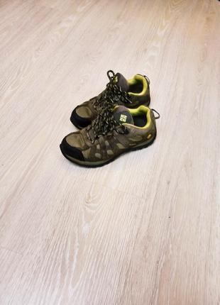 Кроссовки-ботинки columbia р36, 23см