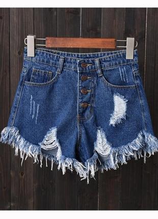 Джинсові шорти, сині джинсові шорти, шорти