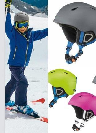 Лыжный шлем crivit германия, детский, сноубордический горнолыжный