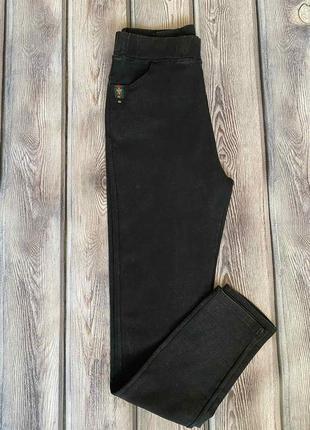 Черные джеггинсы, черные джинсы, джеггинсы классика, джинсы деми, р-р с 52 по 56