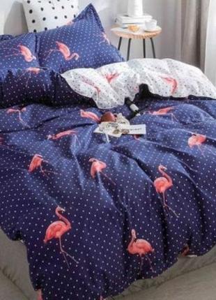 """Комплект постельного  белья, бязь голд """"фламинго"""""""