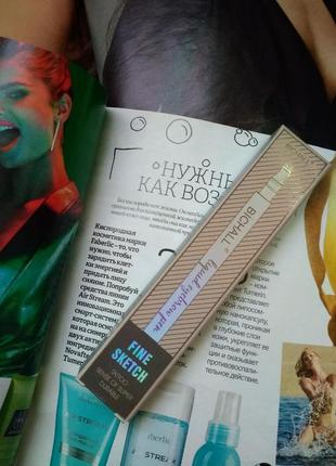 Тату маркер для бровей с эффектом микроблейдинга