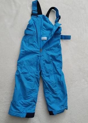 Полукомбинезон лыжные штаны зимние зимові штани брюки лижні напівкомбінезон