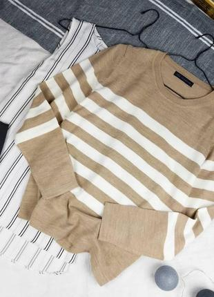 Снижена цена !!! джемпер свитер в полоску marks & spencer
