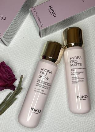 Крем для лица kiko milano hydra pro