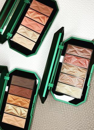 Палетка теней holiday gems gorgeous eyeshadow palette kiko