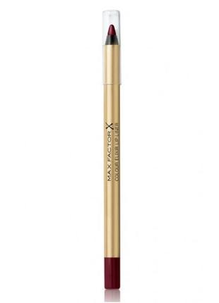 Max factor карандаш для губ colour elixir lip liner 08 тон mauve mistress