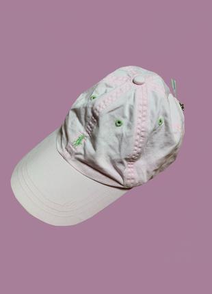 Розовая кепка polo ralph lauren
