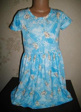 Платье * disney*(frozen), 7-8 лет.