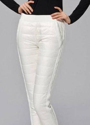 Брендовые зимние тёплые штаны от miss nickelson