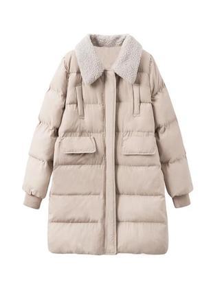 Пуховик парка плащ пальто куртка дублёнка плащевка