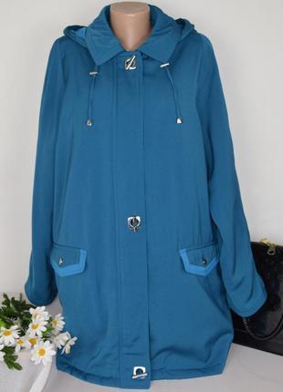 Брендовая утепленная куртка с капюшоном isle ewm синтепон большой размер этикетка