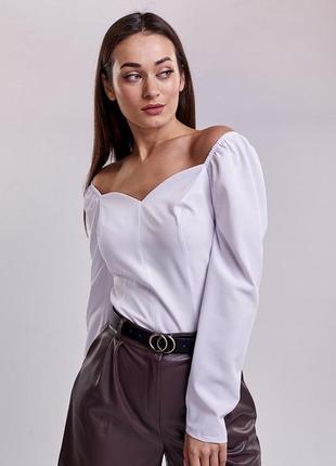 Блуза, кофточка с открытыми плечами