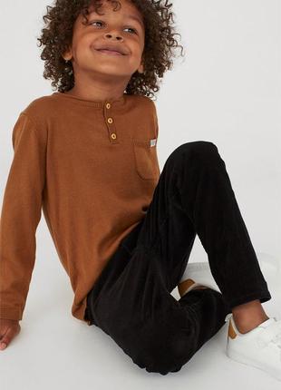 Детские брюки вельветовые