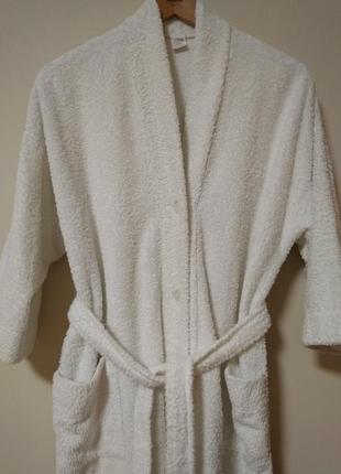 Акция! классный теплый халат с поясом! р. 48-50
