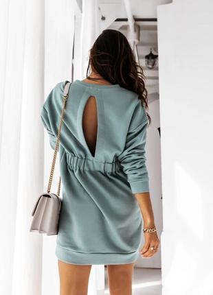 Платье-туника бежевый, мокко, меланж, фрез, фисташка 💕