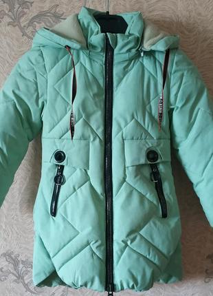 Зимова дуже тепла курточка
