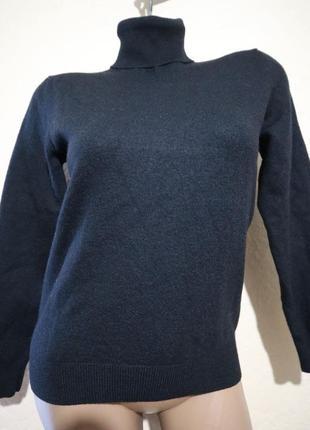 Шерстяной плотный теплый свитер под шею iannalfo & sgariglia размер s