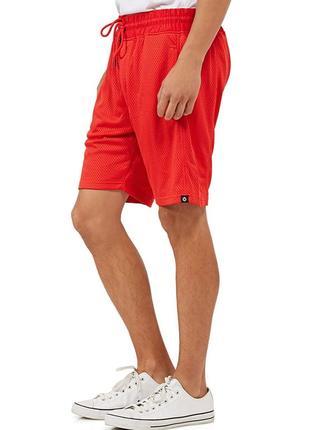Шорты из новых коллекций jack & jones ® mesh sweat shorts core red