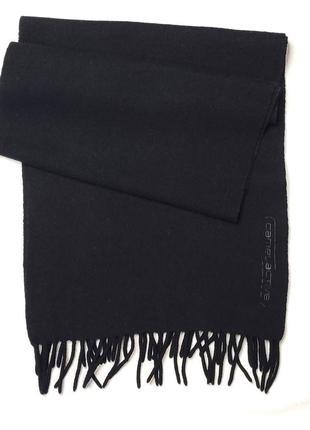 Шарф мужской шерстяной черный camel active