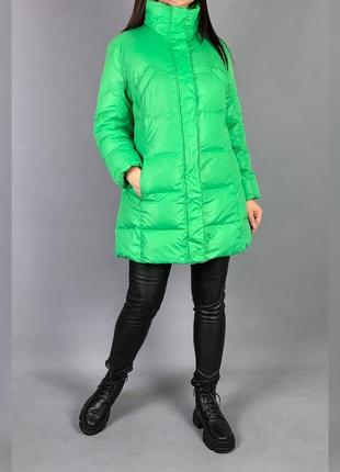 Оригинальная куртка пуховик от немецкого бренда milestone* на пуху.