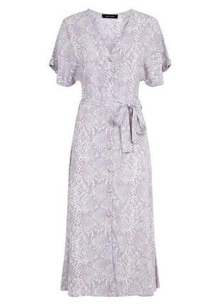 Платье рубашка new look (р.m)