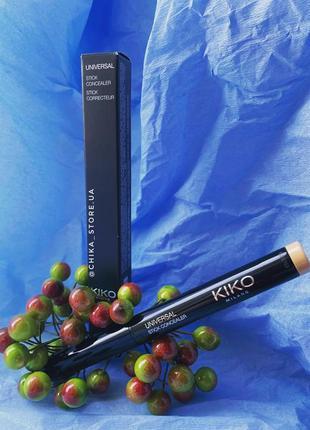 Кремовый консилер-карандаш new universal stick concealer от kiko milano