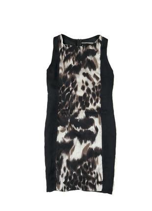 Шикарное стильное шелковое платье m/l zara оригинал 🇪🇸