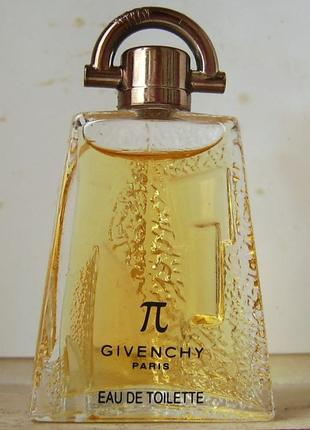 Givenchy pi - edt - 5 мл. оригінал. вінтаж