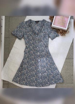 Сукня / сарафан в квітковий принт
