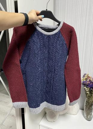 Тёплый вязаный свитер 🔥🔥🔥