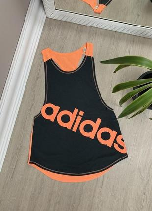 Женская майка adidas адидас оригинал футболка зал спорт спортивная