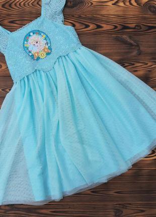 Красивое платье disney